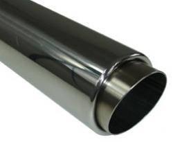 Fox Anschweißendrohr Typ 27 Ø 80 mm / Anschluss: 63mm/ Länge: 350 mm