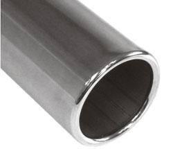 Fox Anschweißendrohr Typ 12 Ø 90 mm / Länge: 400 mm - rund / eingerollt / gerade / ohne Absorber